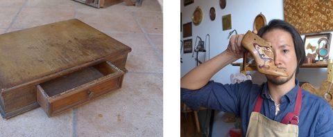 フィズリペアワークス「修復+Reデザイン-木象嵌の可能性」ワークショップ開催