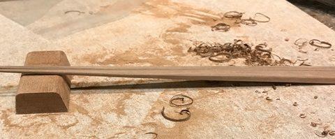 第24回コミュニケーションの会 銘木で作る「プレミアム箸作り」ワークショップ