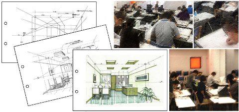 平成30年度インテリアプランナー試験 設計製図受験対策セミナーの日程決定!