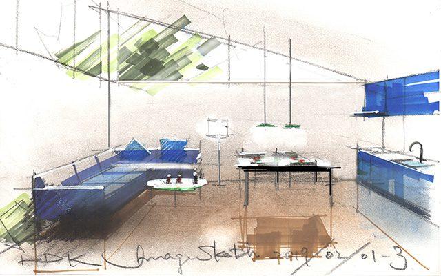 サロン・ド・IP「スケッチによる空間表現」開催のお知らせ